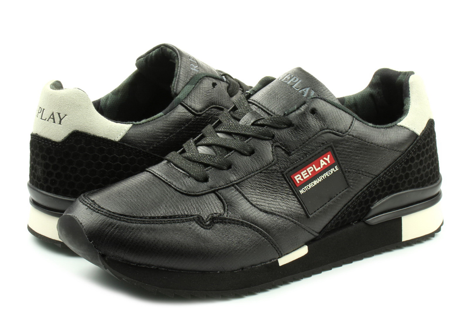 Replay Cipő - Rs680007t - RS680007T-0003 - Office Shoes Magyarország 33ab3f4489
