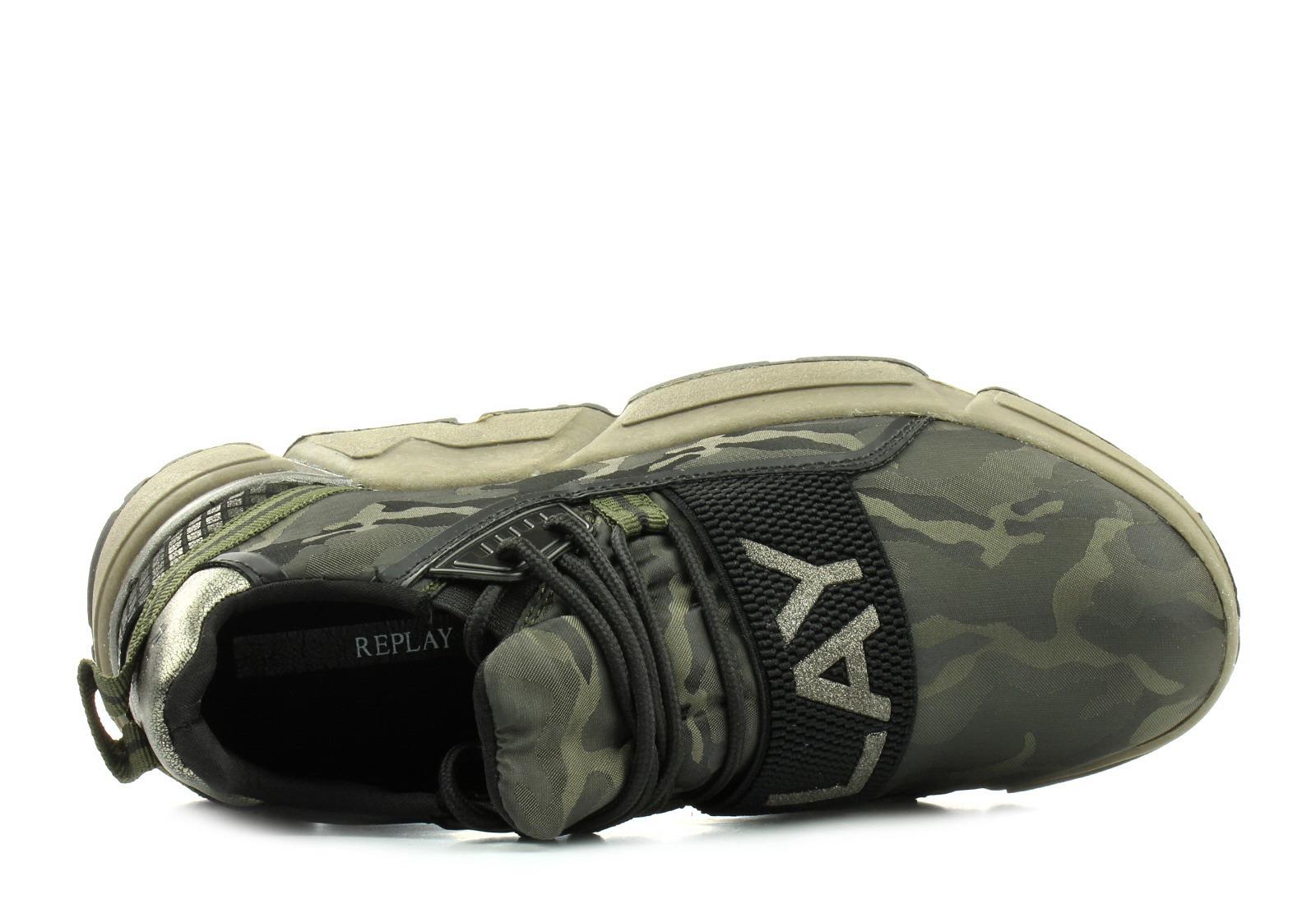 Replay Cipő - Rs950004s - RS950004S-2138 - Office Shoes Magyarország bde79a5d22