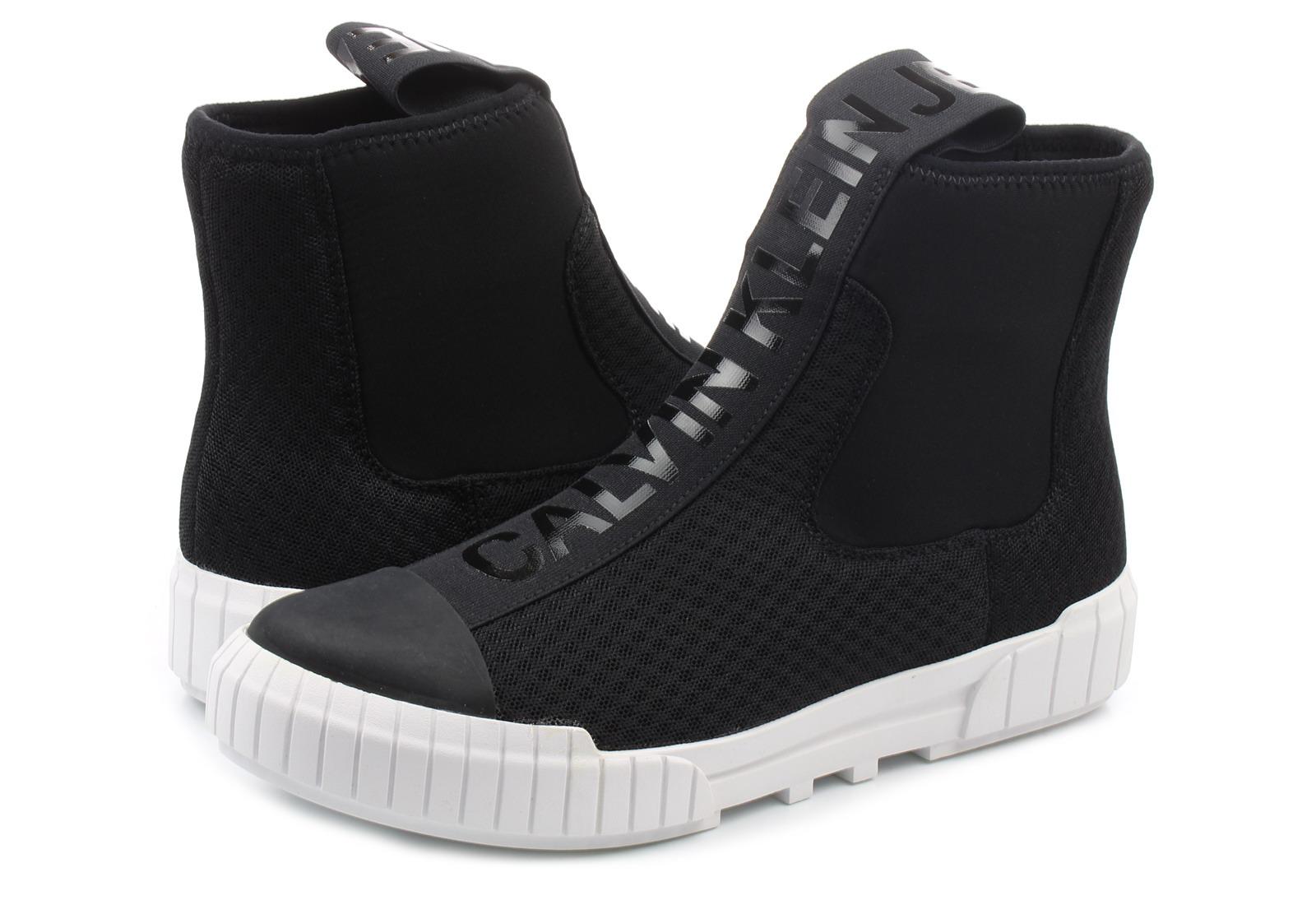 Calvin Klein Jeans Topánky - Bardo - S1738-BLK - Tenisky 4bf06516379