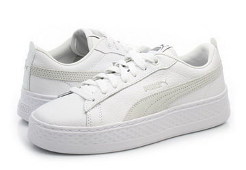 38af8d4fd6c3 Puma Cipő - Puma Smash Platform L - 36648706-wht - Office Shoes ...