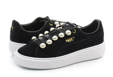 1aab009dd3ad Puma Topánky - Suede Platform Bling Wns - 36668801-blk - Tenisky ...
