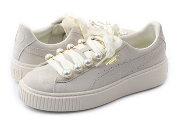 elegant appearance purchase newest look good shoes sale Puma Shoes - Suede Platform Bling Wns - 36668802-wht - Online shop for  sneakers, shoes and boots