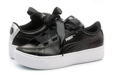 enorme sconto e2211 e6cc6 Puma Shoes - Puma Vikky Platform Ribbon L Metallic - 36781602-blk - Online  shop for sneakers, shoes and boots