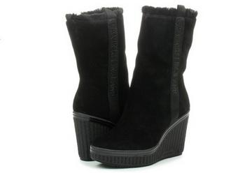 0a835d0d6 Calvin Klein Jeans Vysoké Topánky, Čižmy - Shuana - RE9767-BLK ...