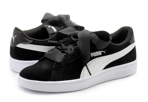 Puma Cipő Smash V2 Ribbon Jr