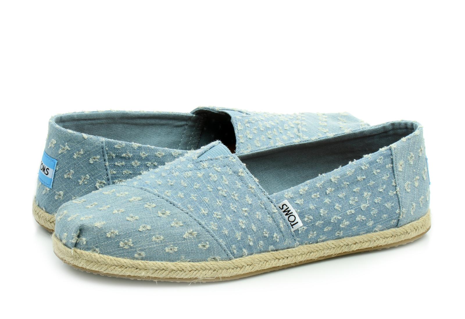 3c86336815 Toms Cipő - Alpargata - 10011654-blu - Office Shoes Magyarország