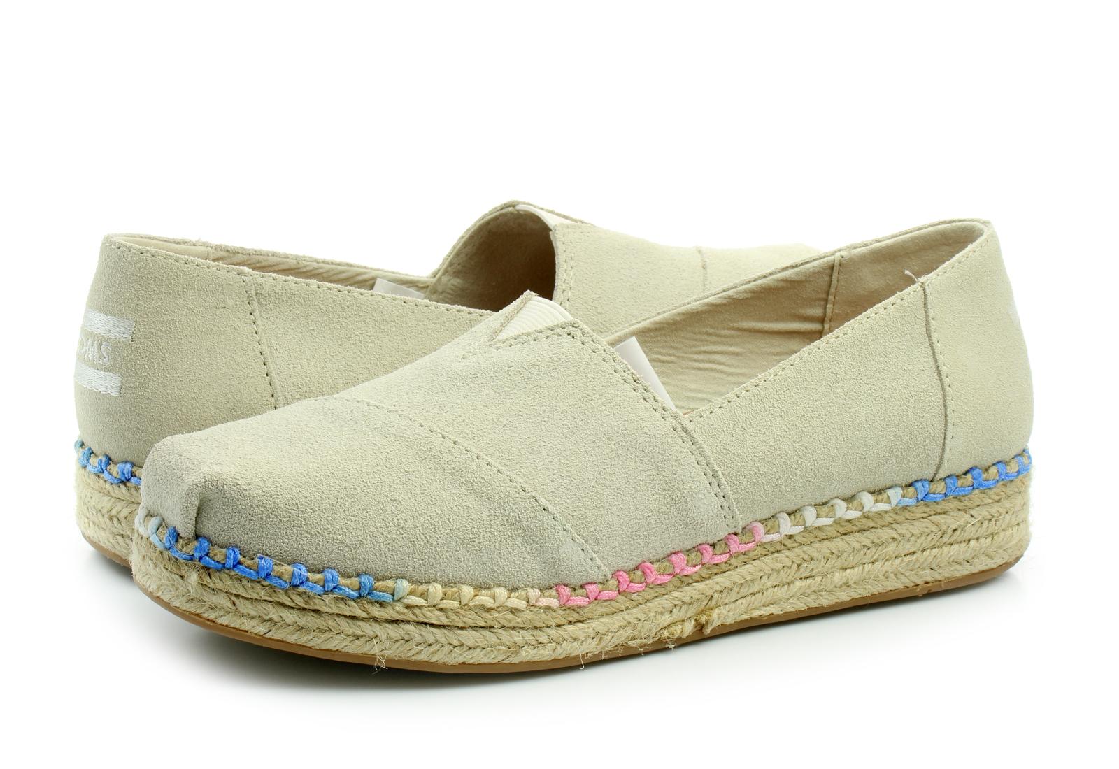 Toms Pantofi Platform Alpargata