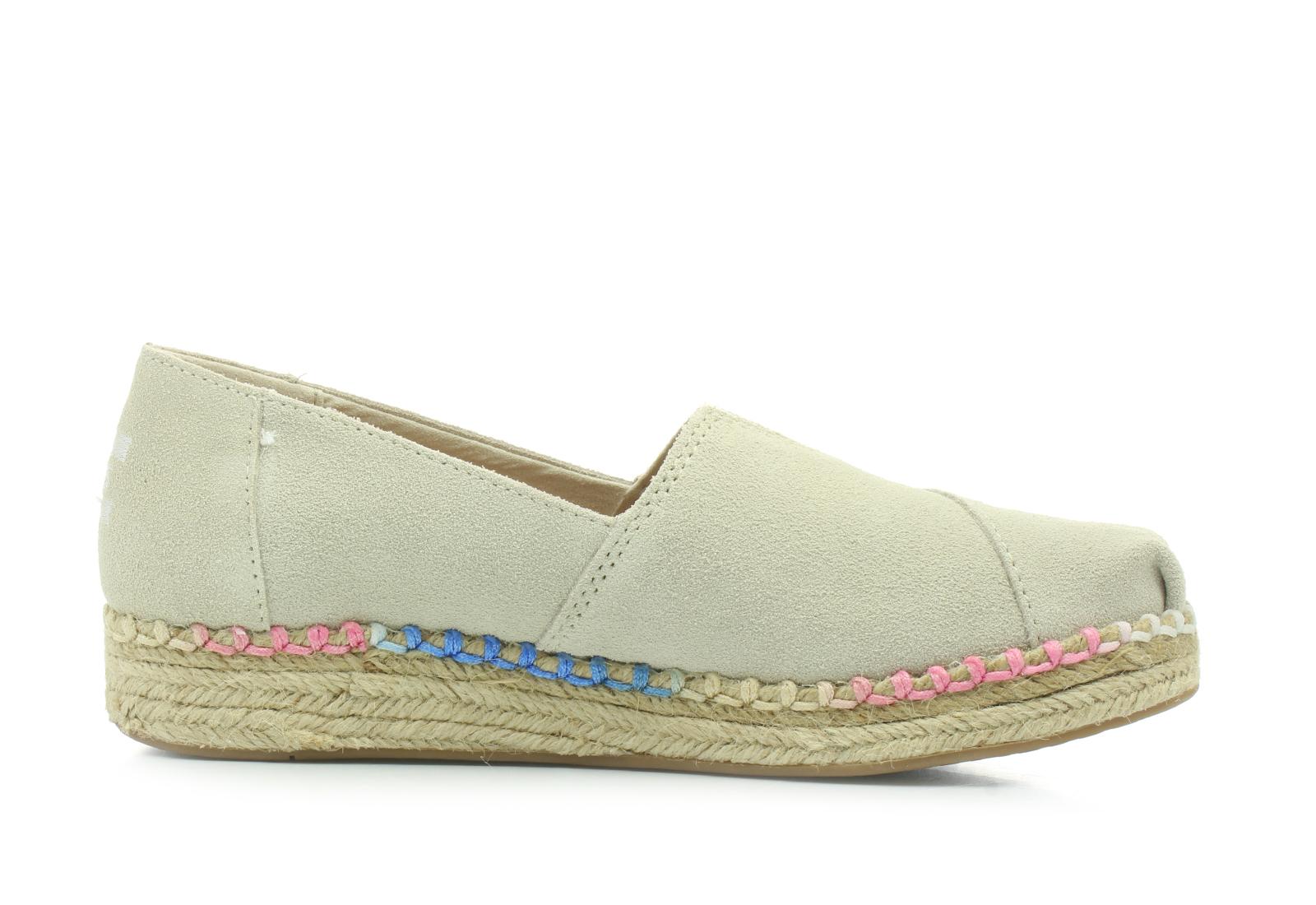 63a111f6012 Toms Shoes - Platform Alpargata - 10011940-nat - Online shop for ...