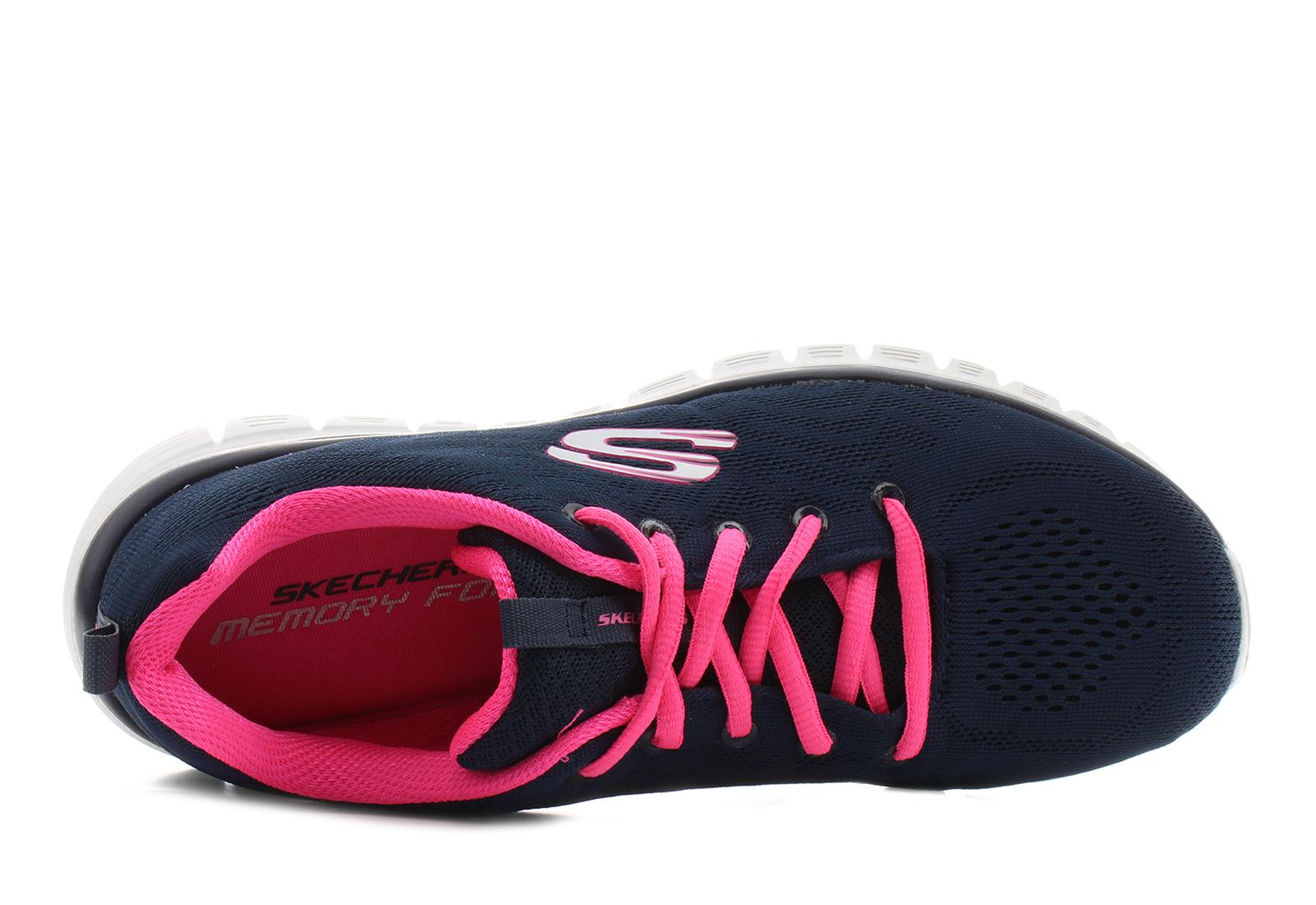 movimiento Permeabilidad grua  Skechers Cipő - Graceful - Get Connected - 12615-nvhp - Office Shoes  Magyarország