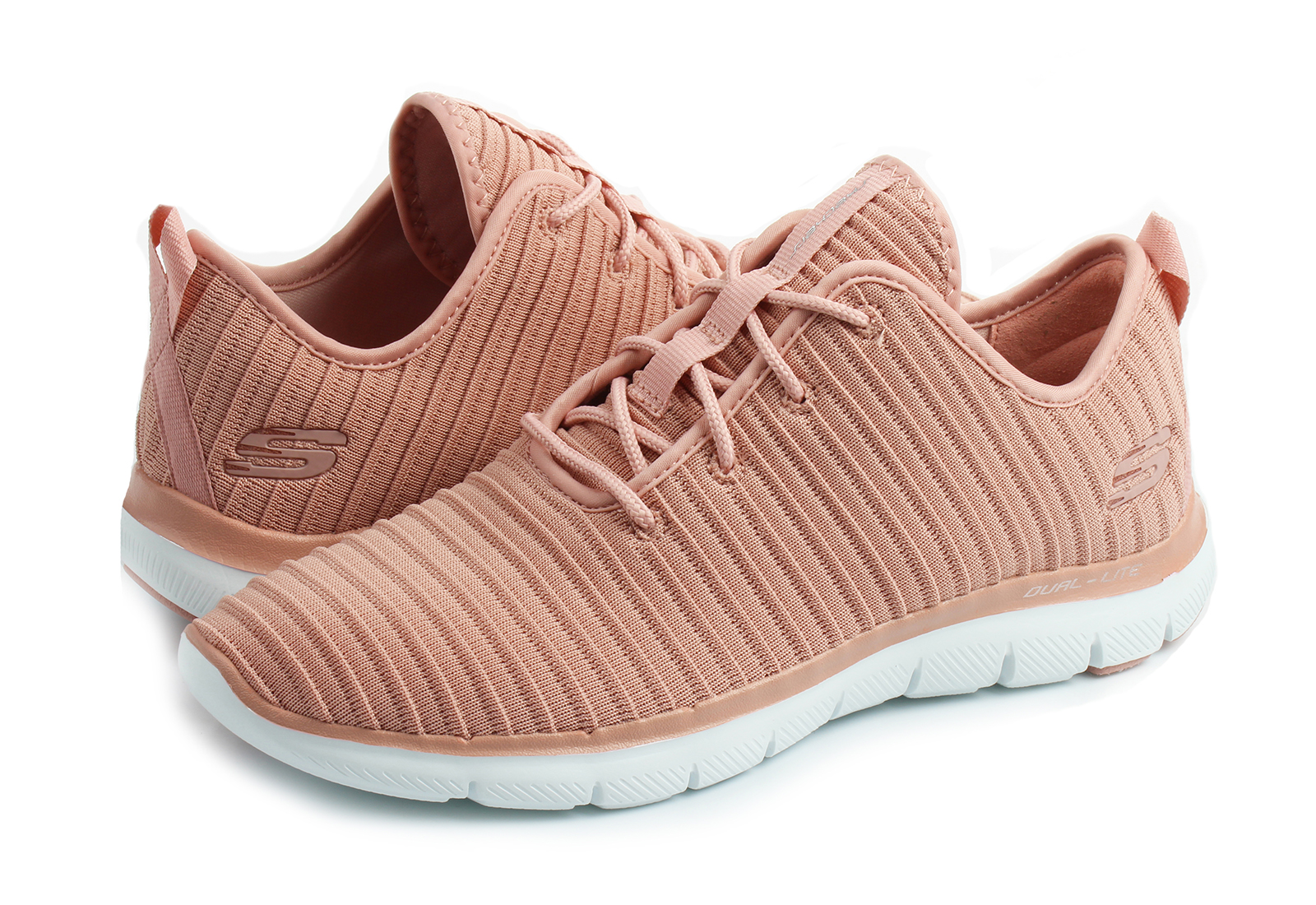 Skechers Cipő - Flex Appeal 2.0 - Estates - 12899-ros - Office Shoes ... af37ae9959