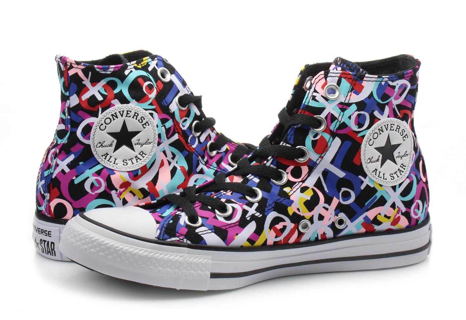 Converse Visoke Cipele Crne Tenisice - Chuck Taylor All Star Print Hi - Office  Shoes - Online trgovina obuće 5df759e3d4a