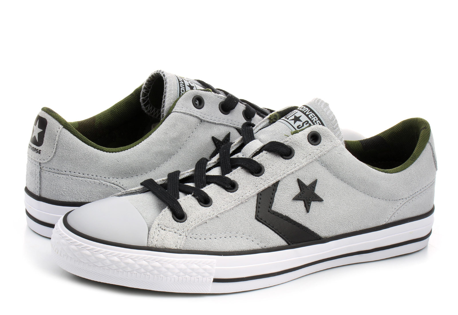 f4656f0db4b907 Converse Niske Tenisice Sive Tenisice - Star Player - Office Shoes ...