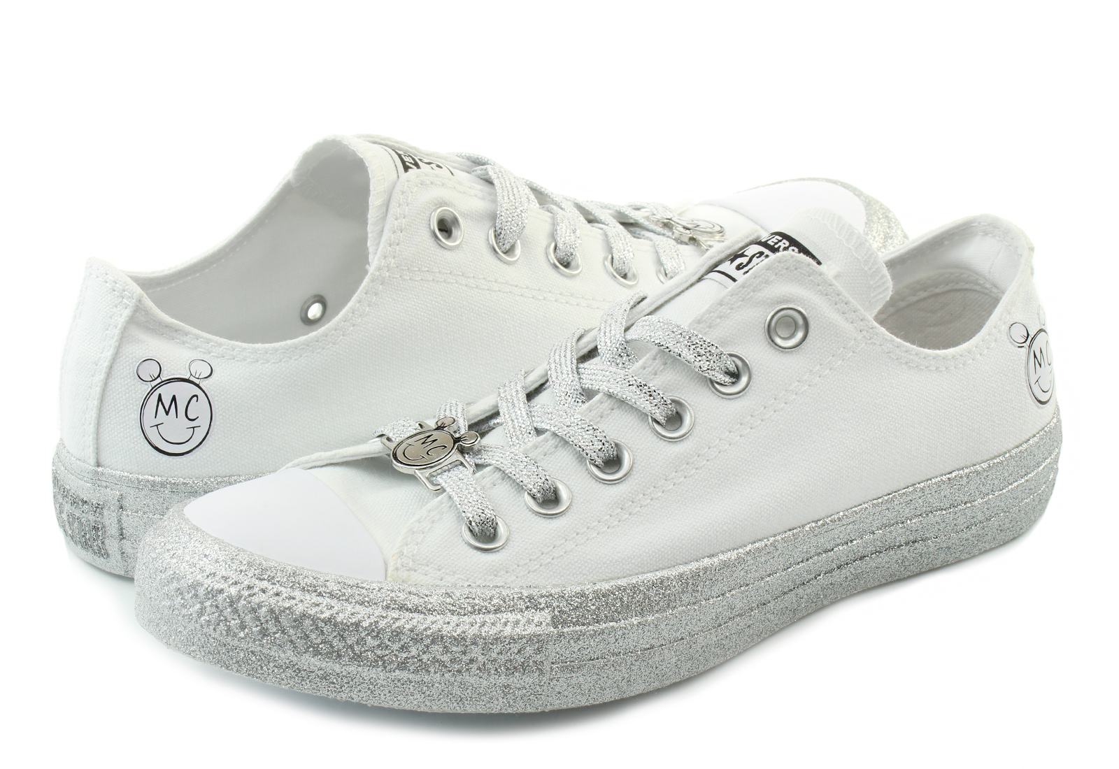 87baf4385895 Converse Sneakers - Chuck Taylor Miley Cyrus Classic Ox - 162238C ...