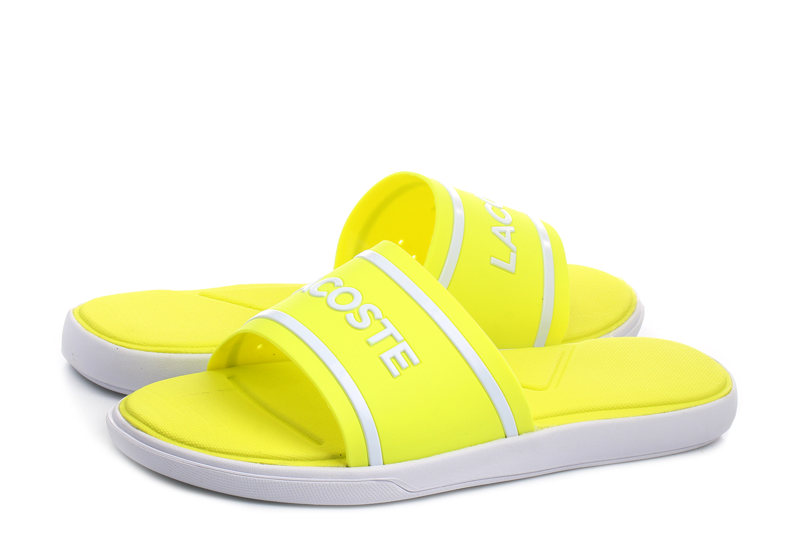 Lacoste Slippers - L.30 Slide - 181caw0021-fy9 - Online shop for ... f4a1be7c90