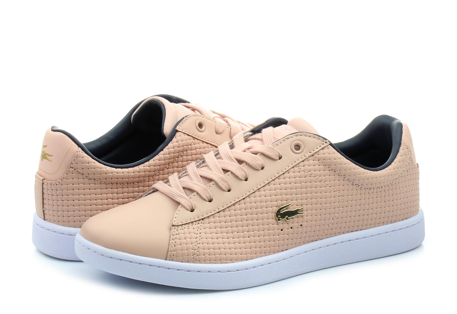 Lacoste »CARNABY EVO 118« Sneaker, rosa, 39,5 39,5