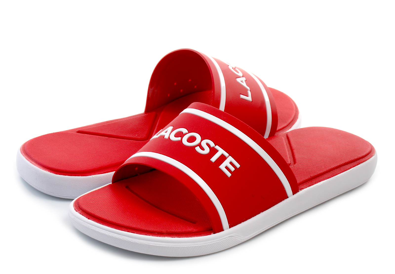 65f2b3a93e Lacoste Papucs - L.30 Slide - 182cam0063-17k - Office Shoes Magyarország