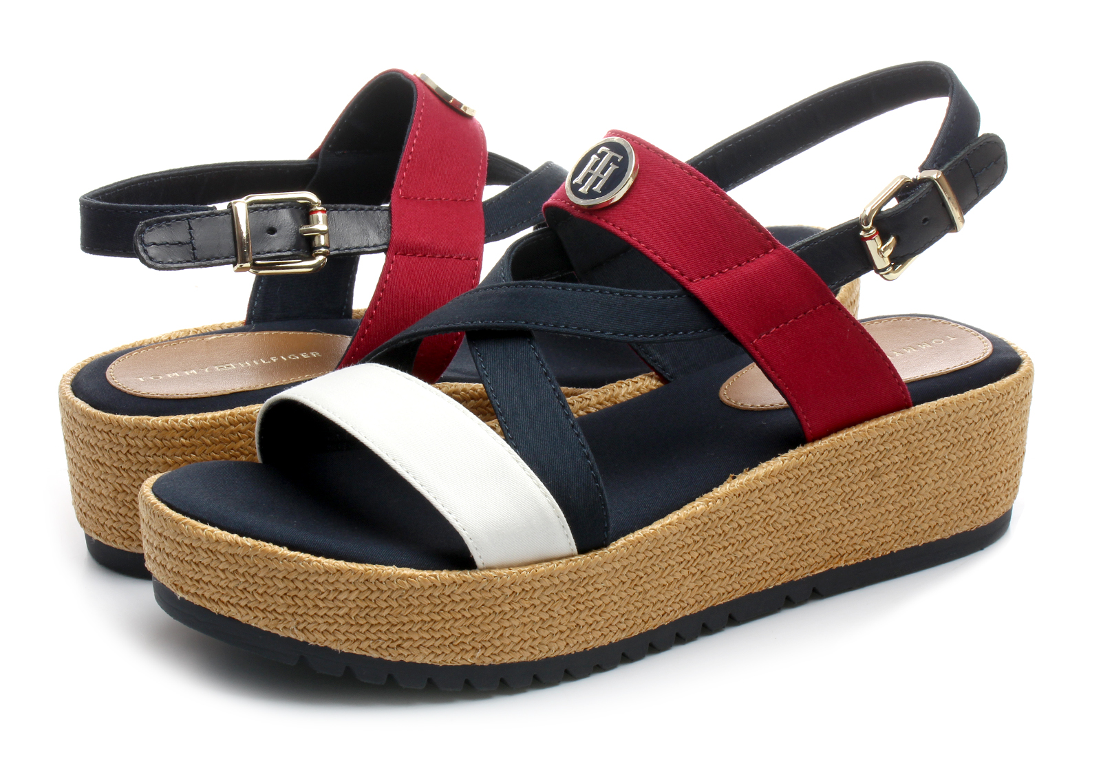 69b3692c25 Tommy Hilfiger Platforma Plave Sandale - Jemilia 2 - Office Shoes ...