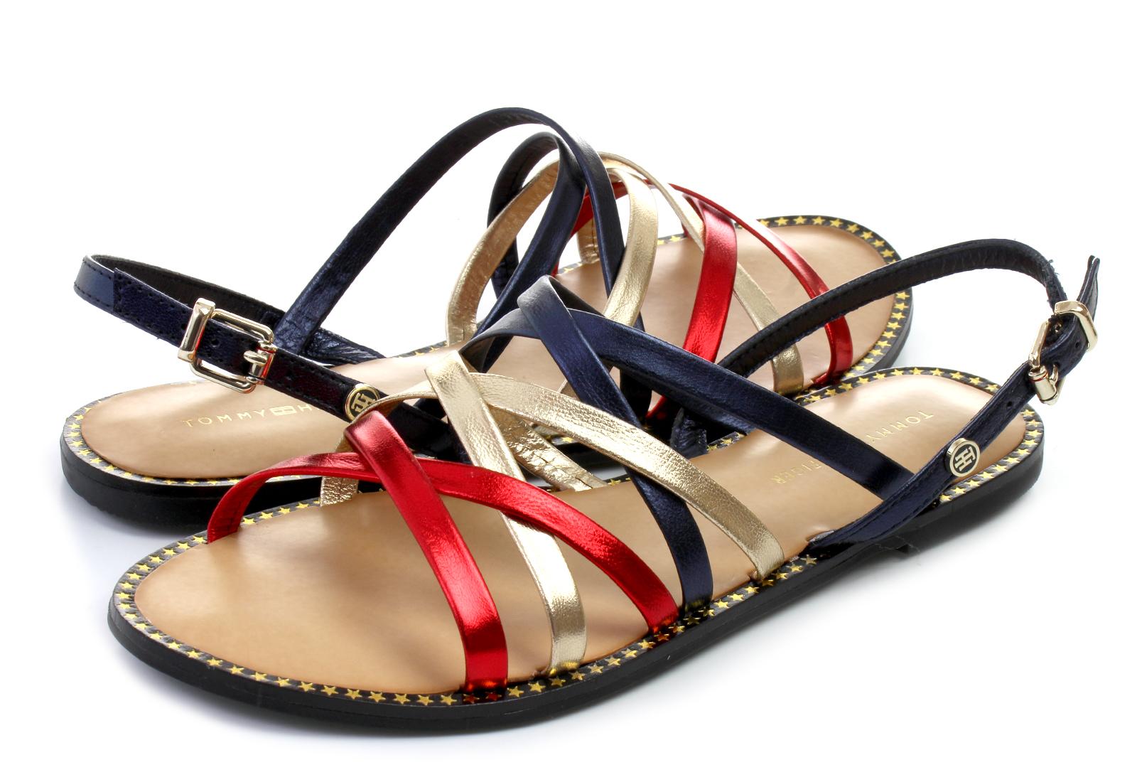 cb0df7c3afc8 Tommy Hilfiger Ravne Plave Sandale - Julia 76 - Office Shoes ...