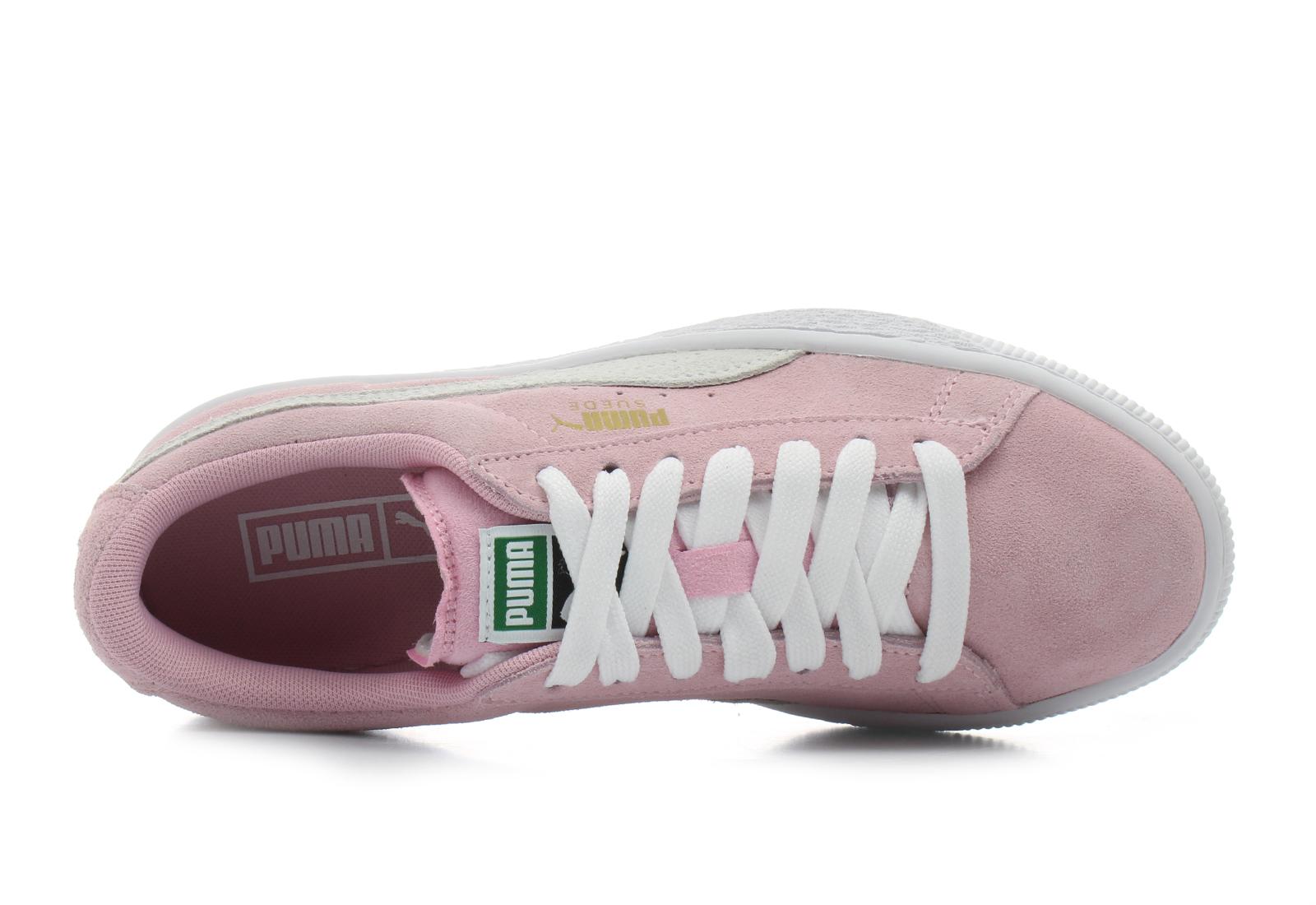 Puma Cipő - Suede Jr - 355110301-pnk - Office Shoes Magyarország 772e238e68