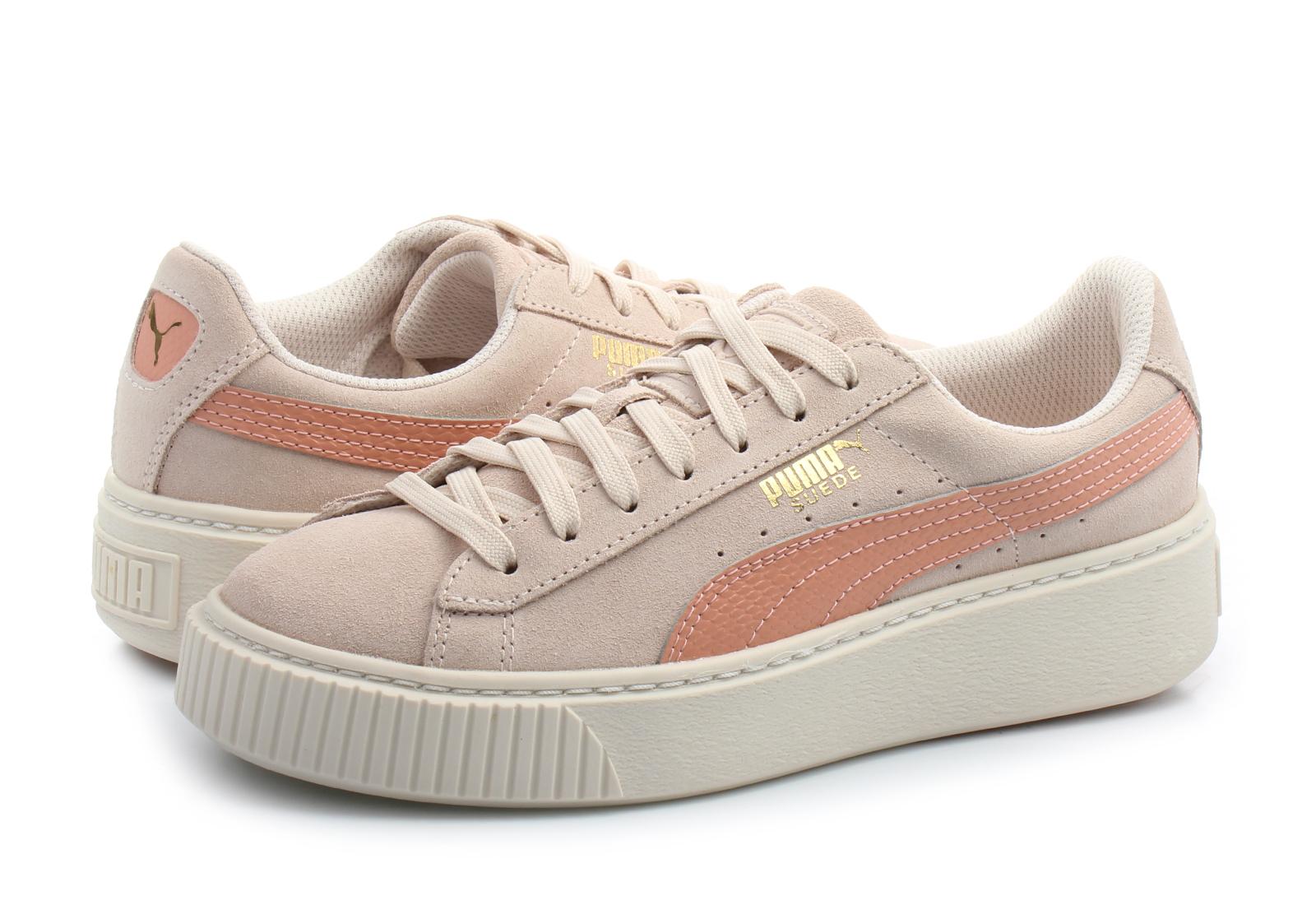 c52a0f6c3271 Puma Shoes - Suede Platform Snk Jr - 36390606-pnk - Online shop ...