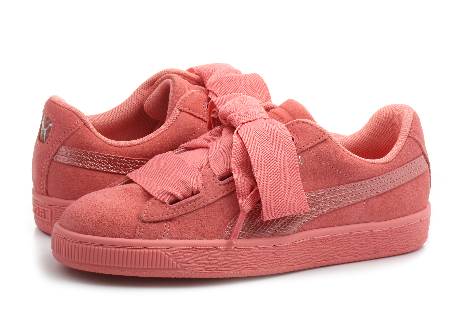 innovative design 16d60 6fa4f Puma Shoes - Suede Heart Snk Jr - 36491805-pnk - Online shop for sneakers,  shoes and boots