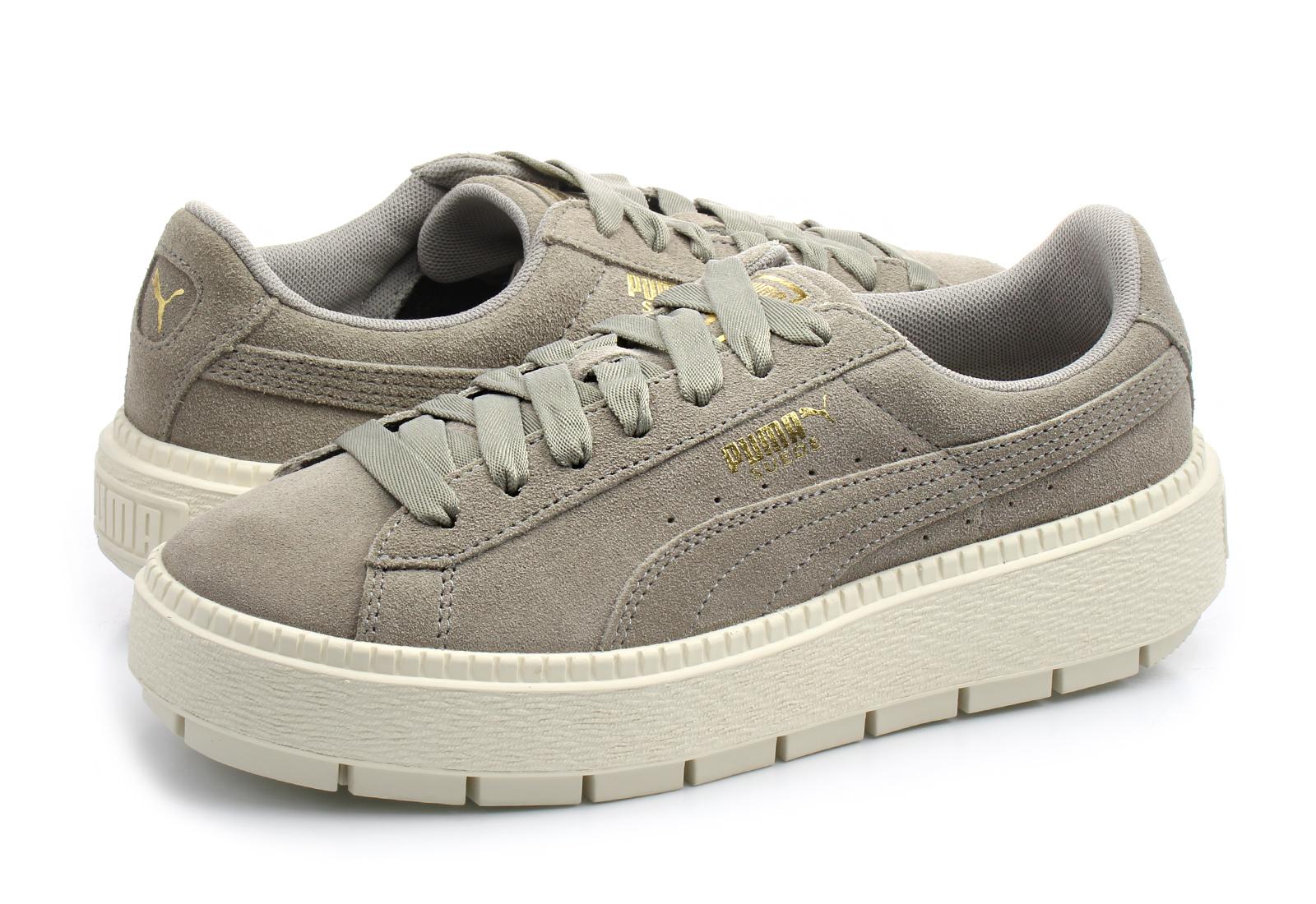 Puma Shoes - Suede Platform Rugged Wns - 36583006-nat - Online ... fd990a64ea4