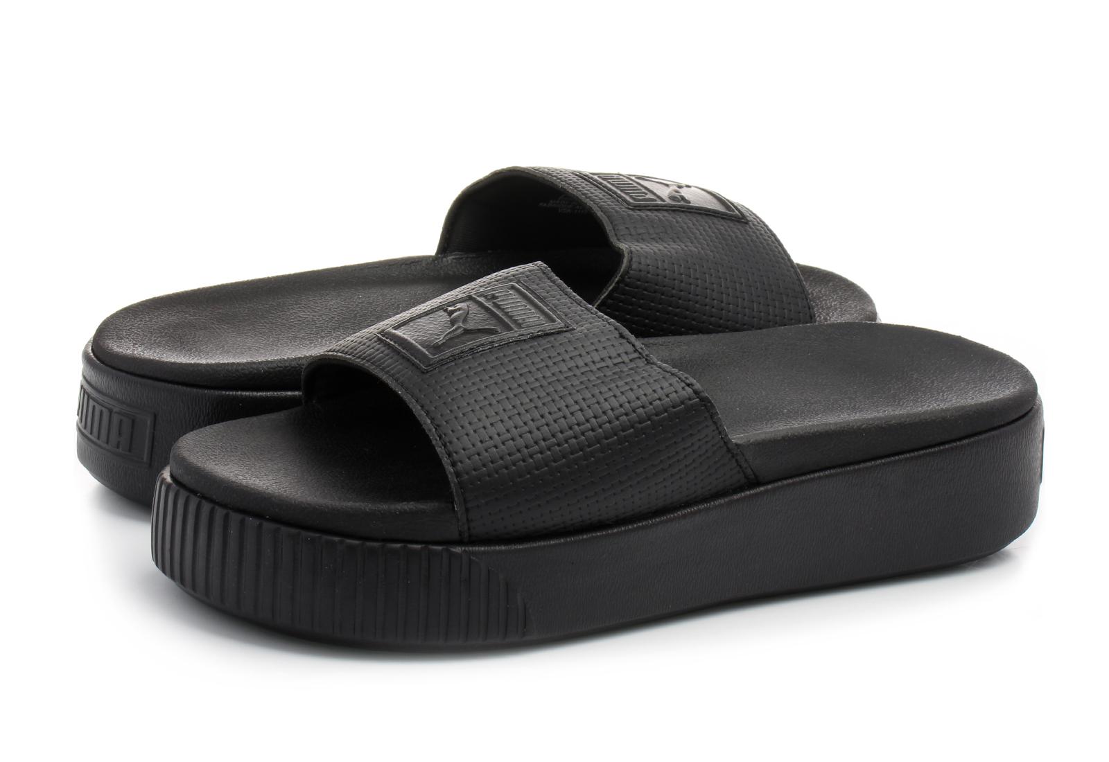 8baddd5fde Puma Papucs - Platform Slide Wns Ep - 36612202-blk - Office Shoes ...