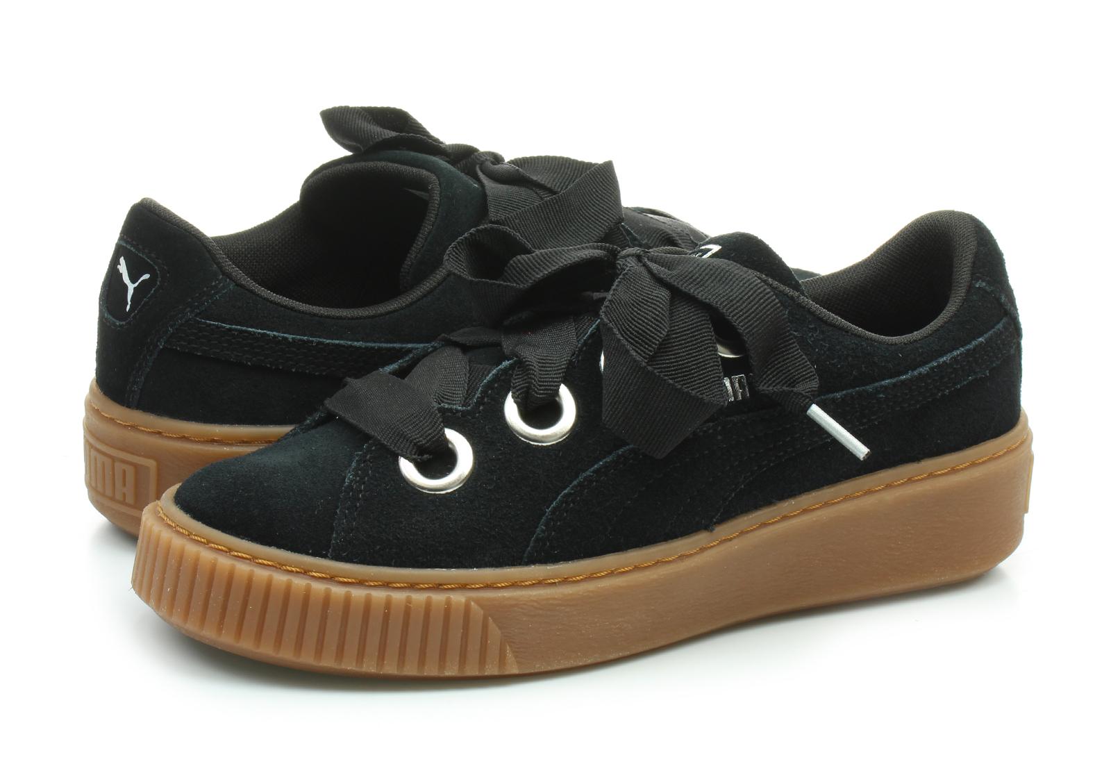 Puma Niske Cipele Crne Cipele - Platform V2 Suede - Office Shoes ... 385e63df5c