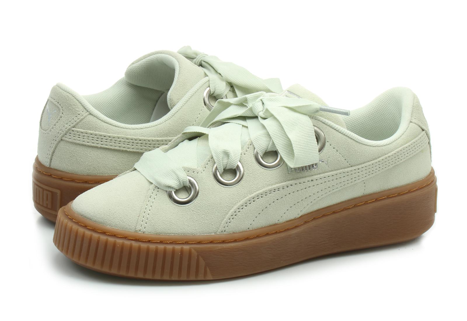 Puma Shoes - Platform V2 Suede - 36646102-sil - Online shop for ... 7defb34b6b