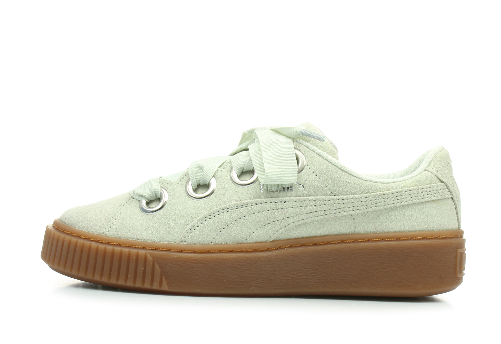 Puma Shoes - Platform V2 Suede - 36646102-sil - Online shop for ... 7defb34b6b
