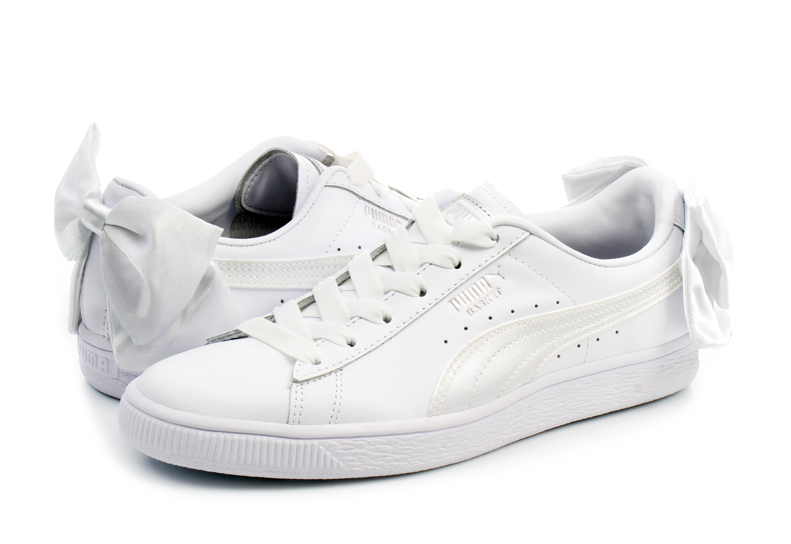 f8a078d3b7b Puma Shoes - Basket Bow Wns - 36731901-wht - Online shop for ...