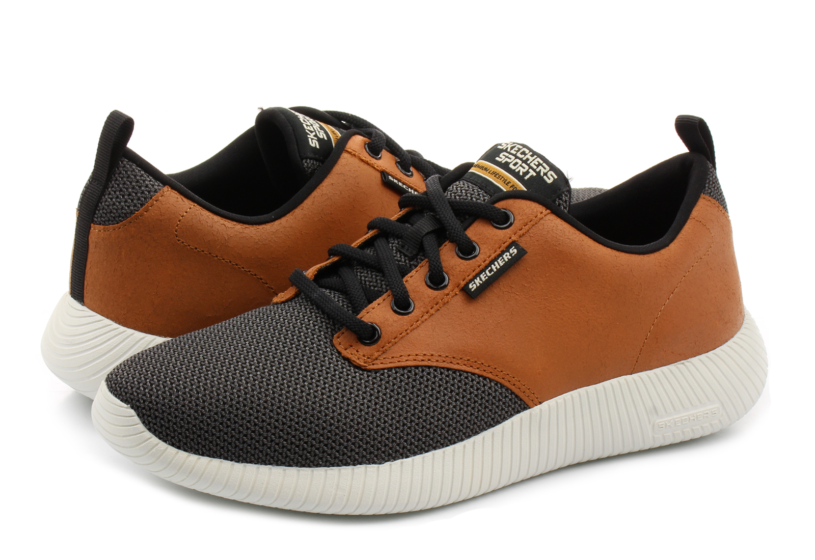 Skechers Shoes - Depth Charge - Trahan - 52398-wtbk - Online shop ... 58a084cd39