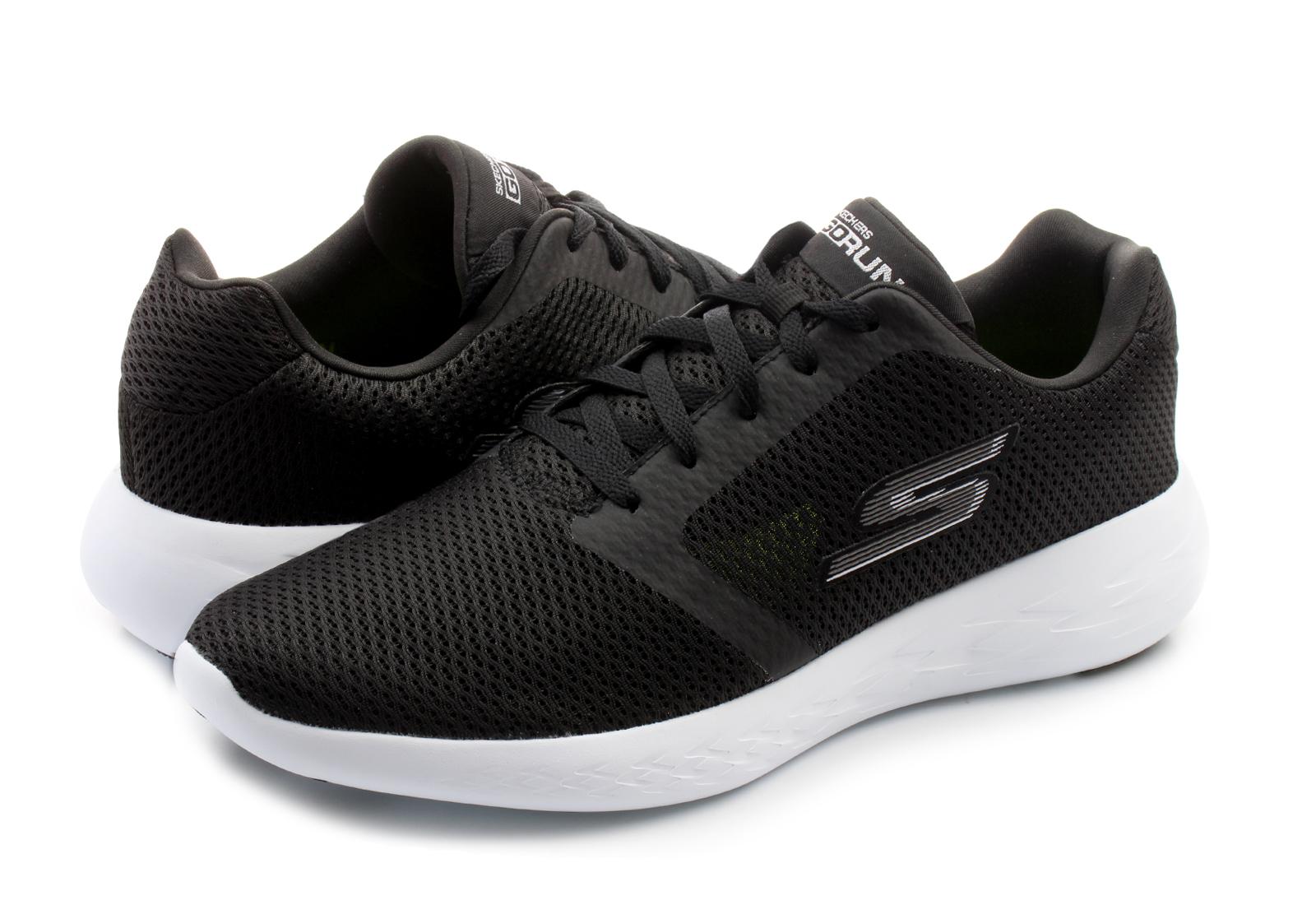 Skechers Shoes Go Run 600 Refine 55061 Bkw Online