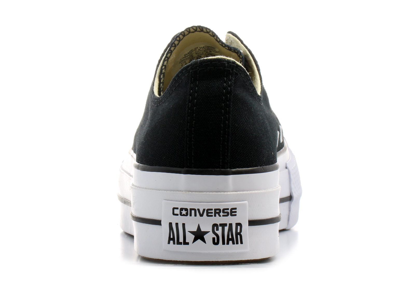 Converse Casual Crna Patike Chuck Taylor All Star Lift Office Shoes Srbija