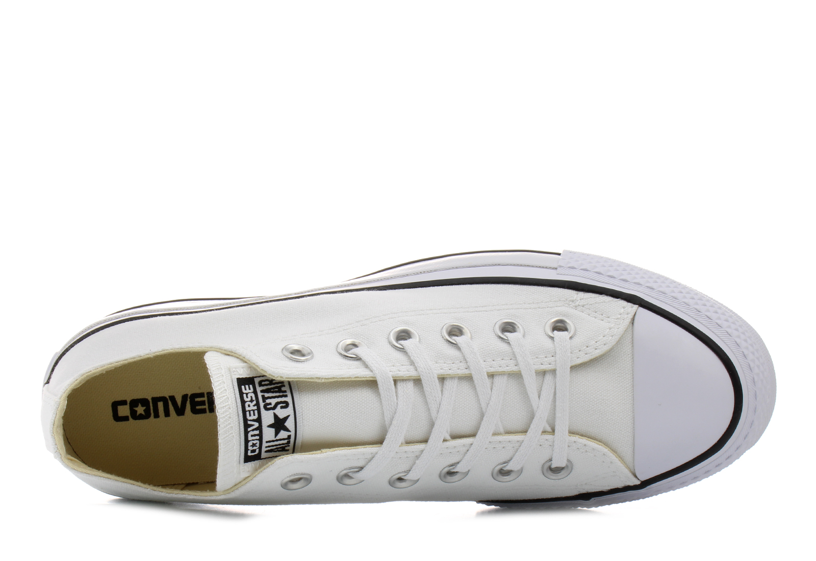 Converse Casual Bela Patike Chuck Taylor All Star Lift Office Shoes Srbija