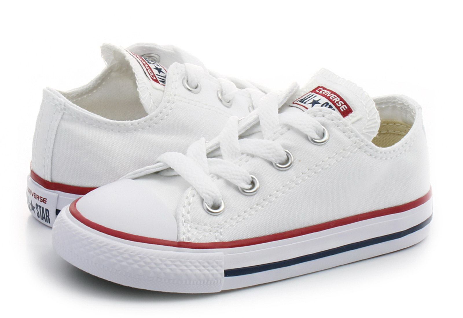 f7cd1e0b8a77 Converse Trampki - Ct As Kids Core Ox - 7J256C - Obuwie i buty ...
