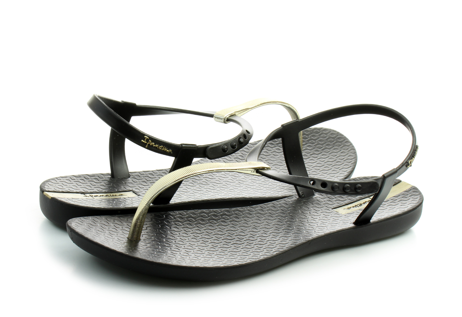 52330a8bc Ipanema Ravne Crne Sandale - Charm V Sandal Fem - Office Shoes ...