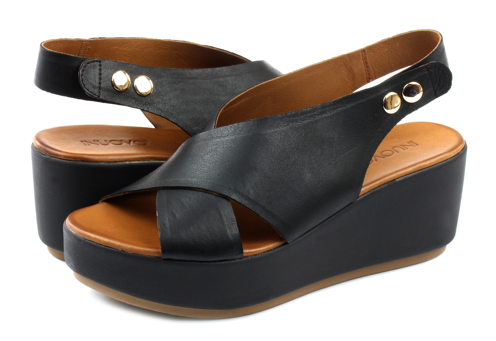 c5aebb42927 Inuovo Sandals - 8697 - 8697-blk - Online shop for sneakers