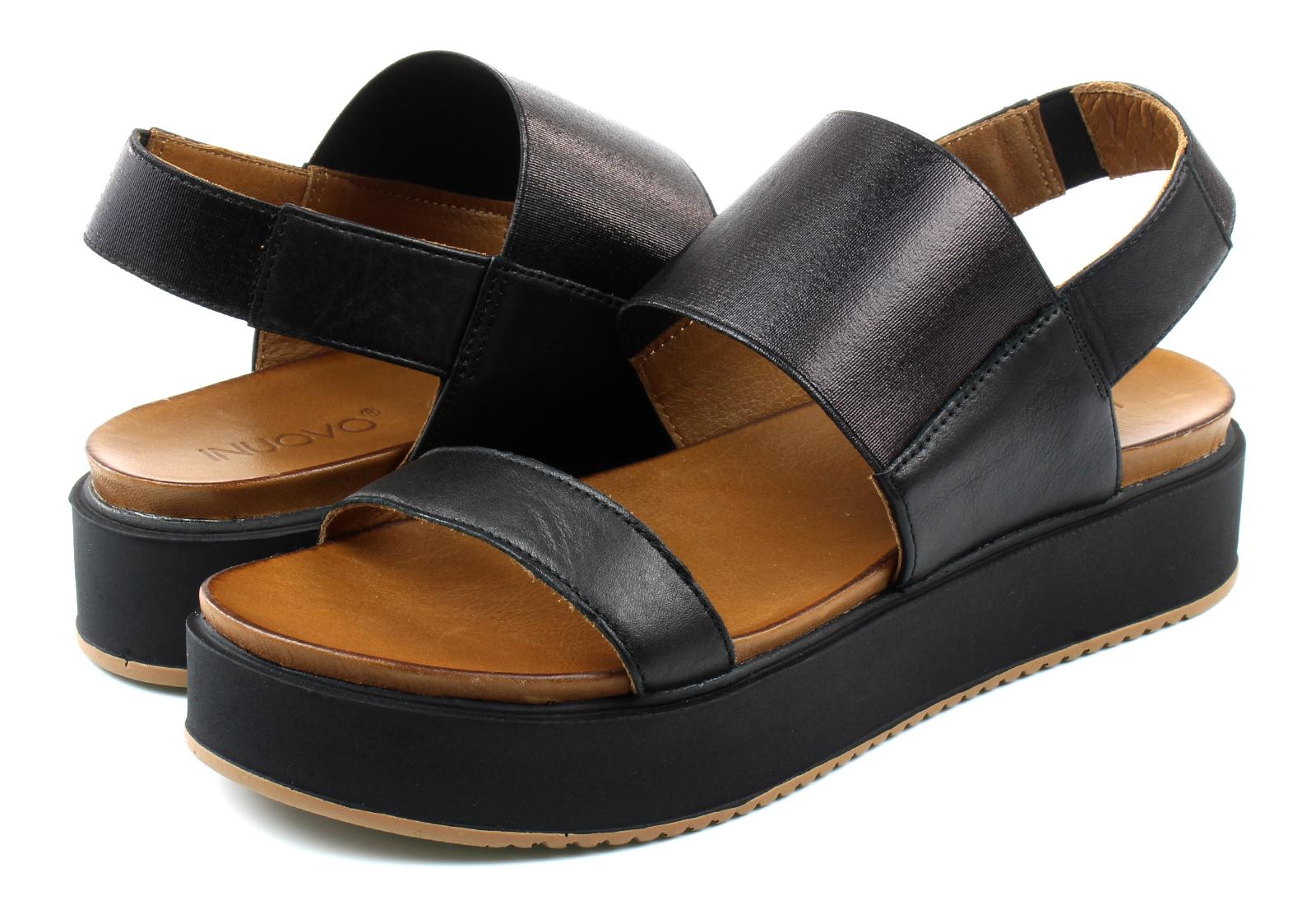 Inuovo Crne Online Sandale Shoes Trgovina Office Platforma 8717 Obuće 0Pk8OnwX