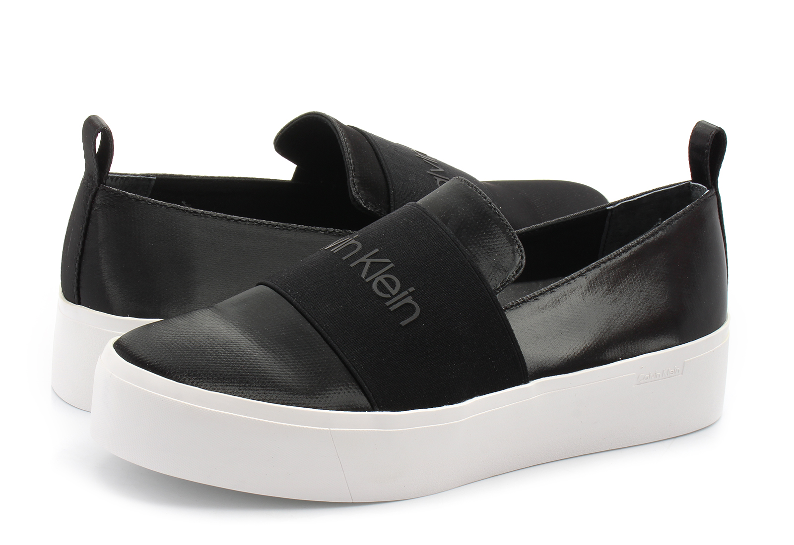 calvin klein black label slip on cipele crne cipele jacinta office shoes online trgovina obu e. Black Bedroom Furniture Sets. Home Design Ideas