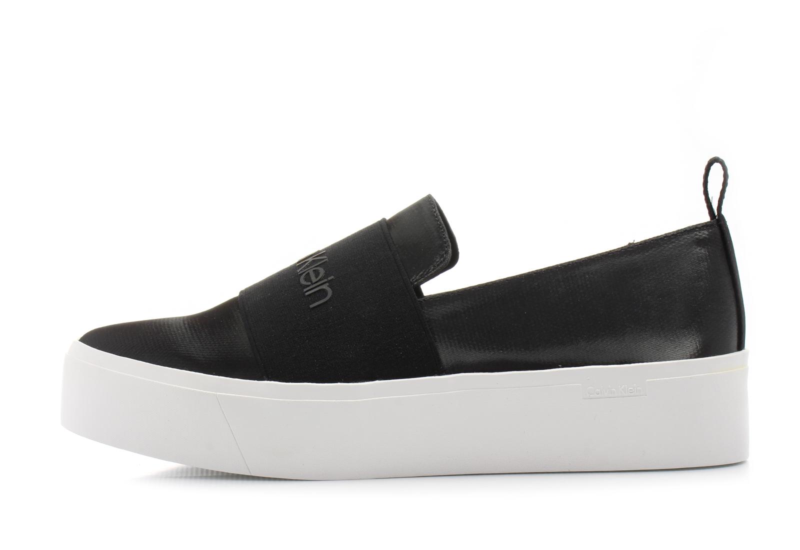 82a869fbd5 Calvin Klein Black Label Topánky - Jacinta - E6674-BLK - Tenisky ...
