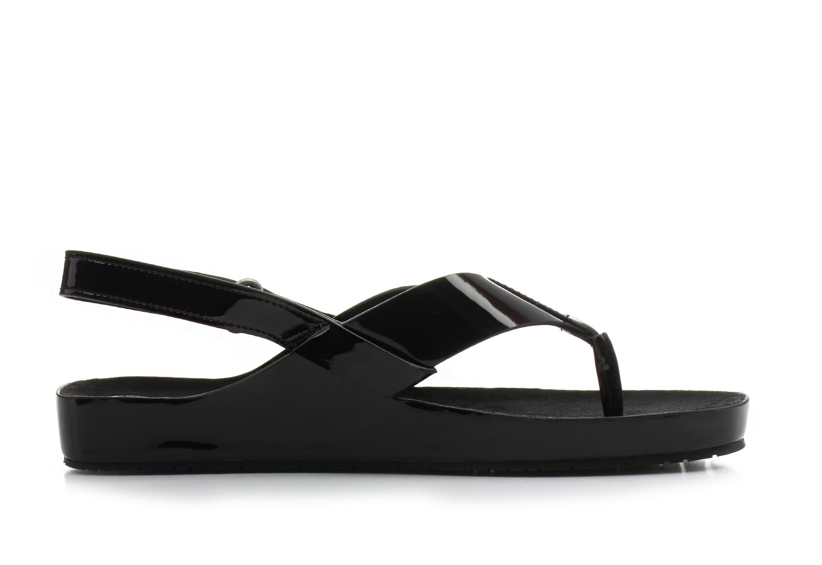 calvin klein black label sandale crne sandale manira. Black Bedroom Furniture Sets. Home Design Ideas