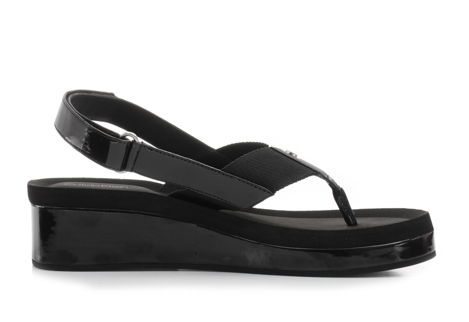 calvin klein black label sandale crne sandale moselle. Black Bedroom Furniture Sets. Home Design Ideas