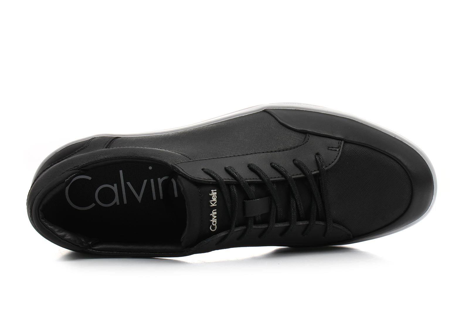 Calvin Klein Black Label Shoes - Balin - F1854-BLK - Online shop for ... 686fa1fe21