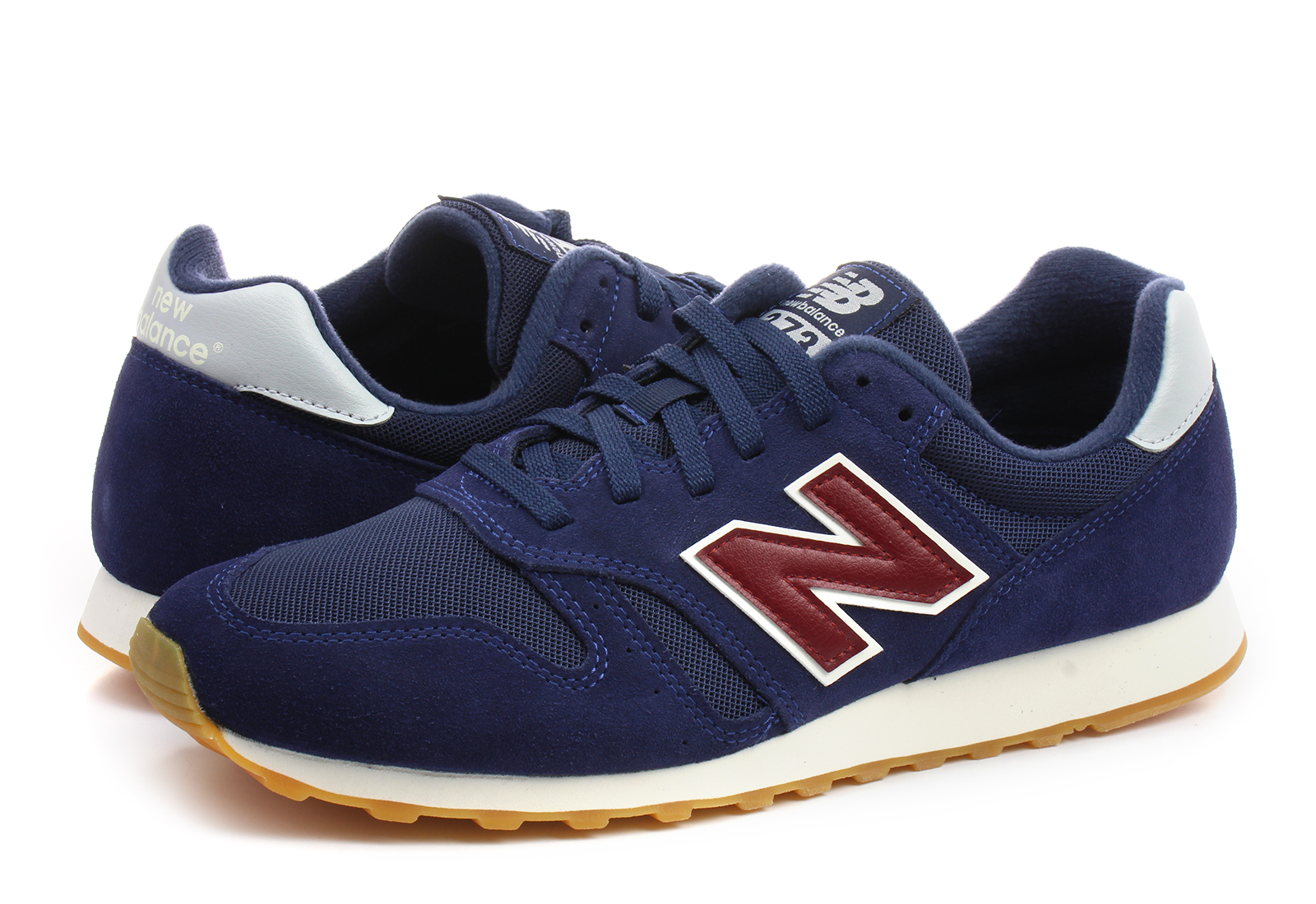 chaussures new balance ml373 leather marron