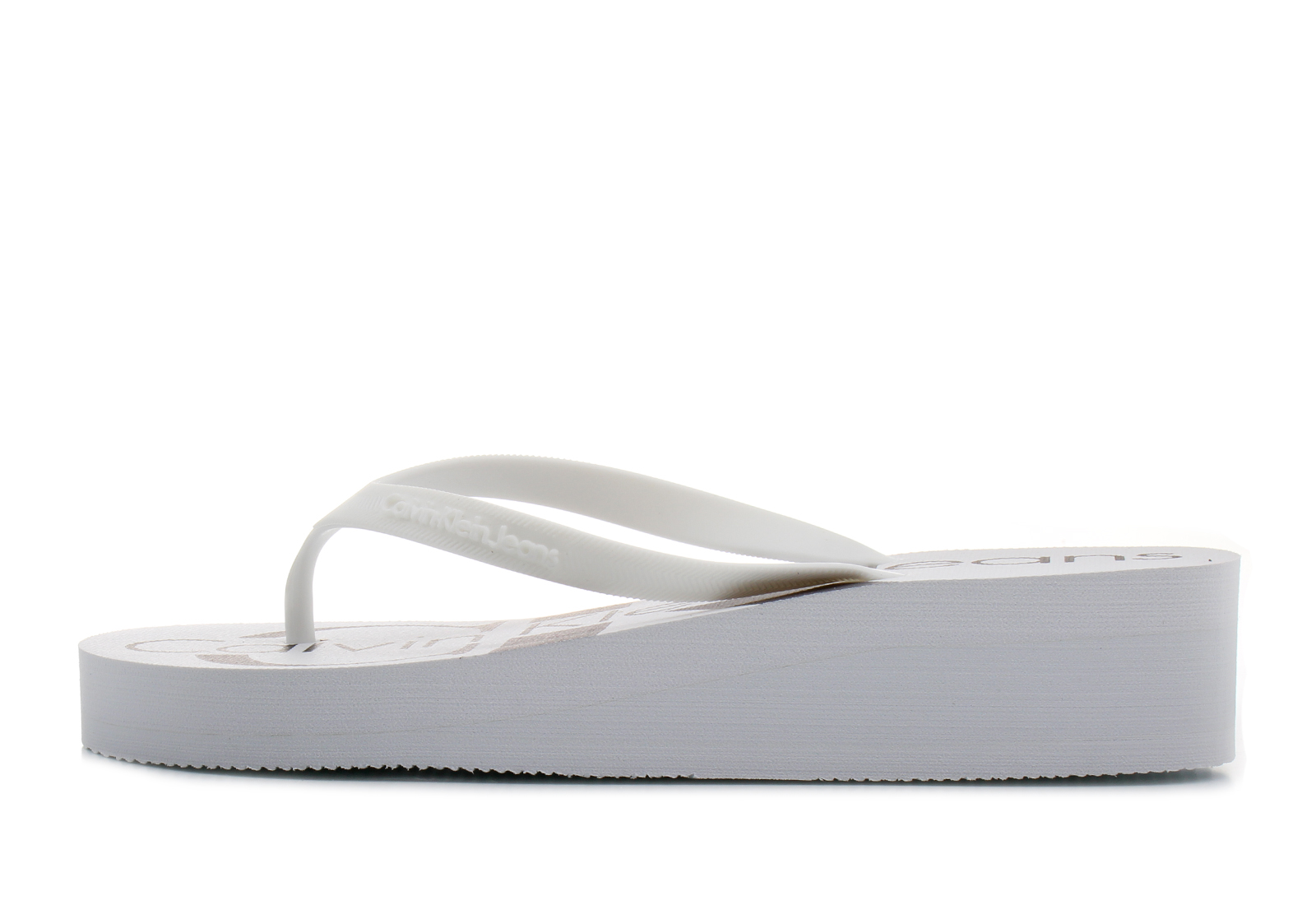 0e2007023f Calvin Klein Jeans Gumene Bela Papuče - Tesse - Office Shoes Srbija