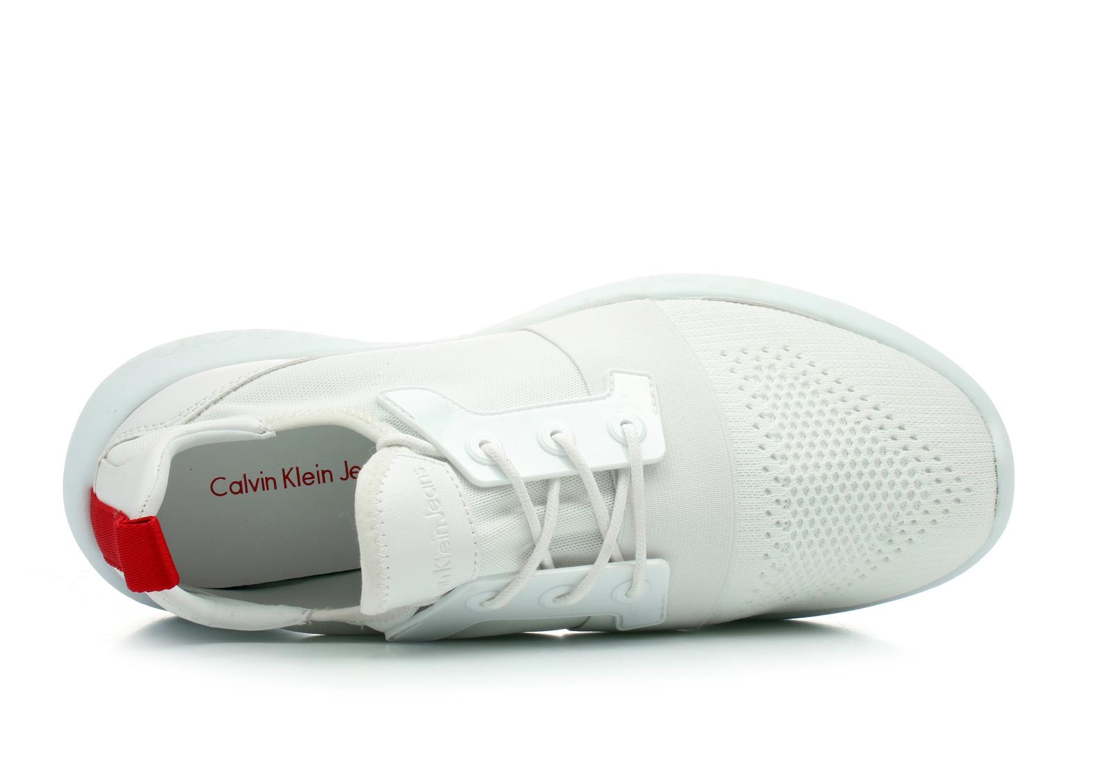 Calvin Klein Jeans Cipő - Mel - S0541-WHT - Office Shoes Magyarország d64abc5880