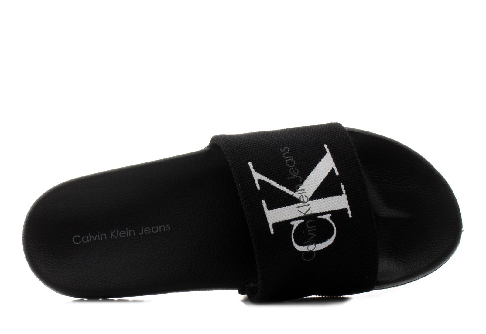 Calvin Klein Jeans Papucs - Viggo - SE8535-BLK - Office Shoes ... b01182d576