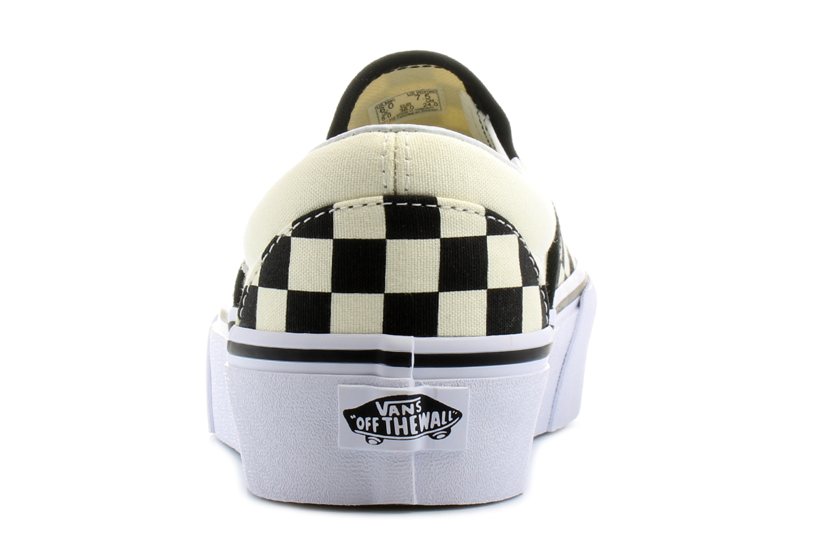 Vans Cipő - Ua Classic Slip - On Platform - V0018EBWW - Office Shoes ... 06fcb08b38