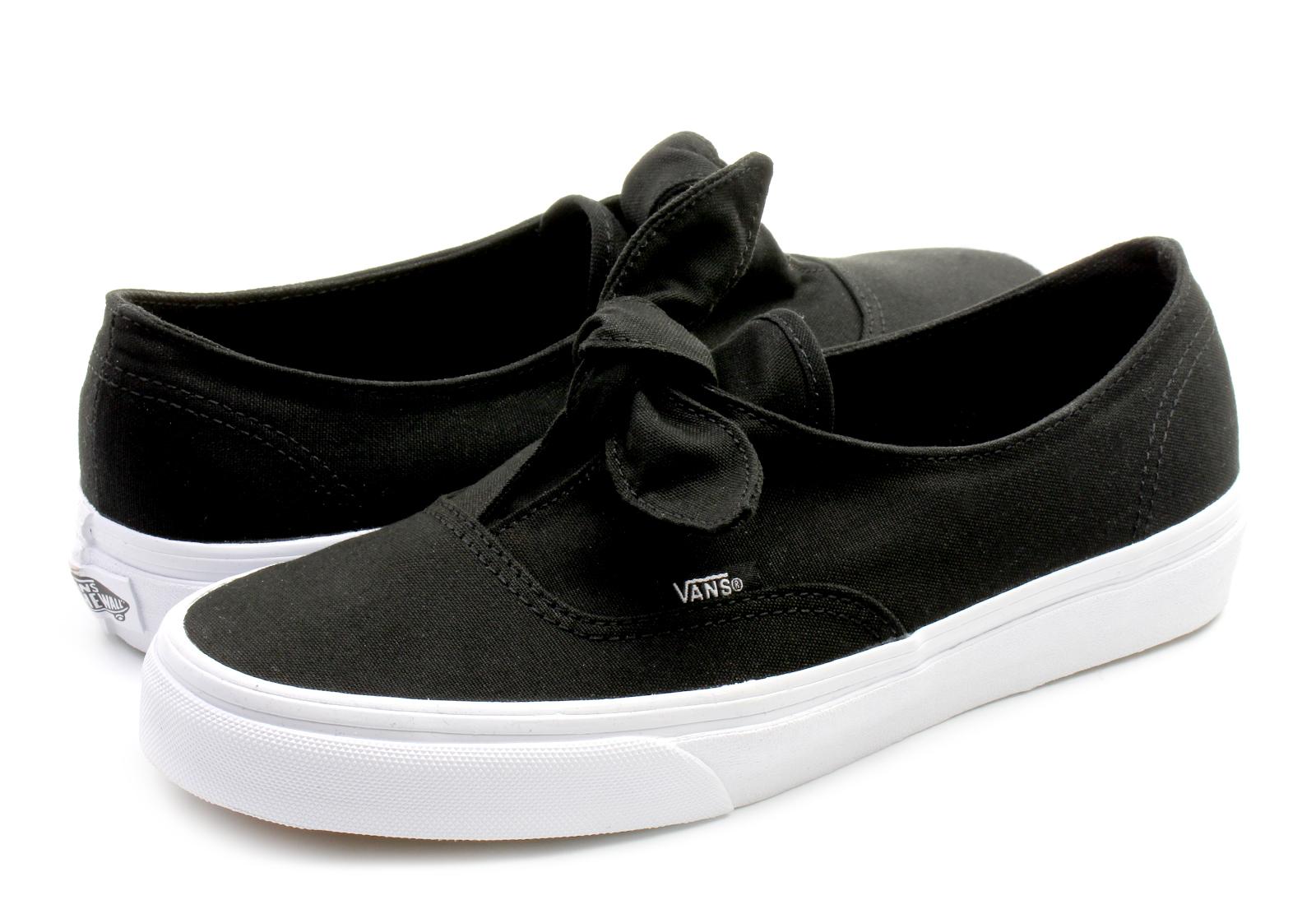 Vans Tornacipő - Authentic Knotted - VA3MU21WX - Office Shoes ... bf4c7fec36